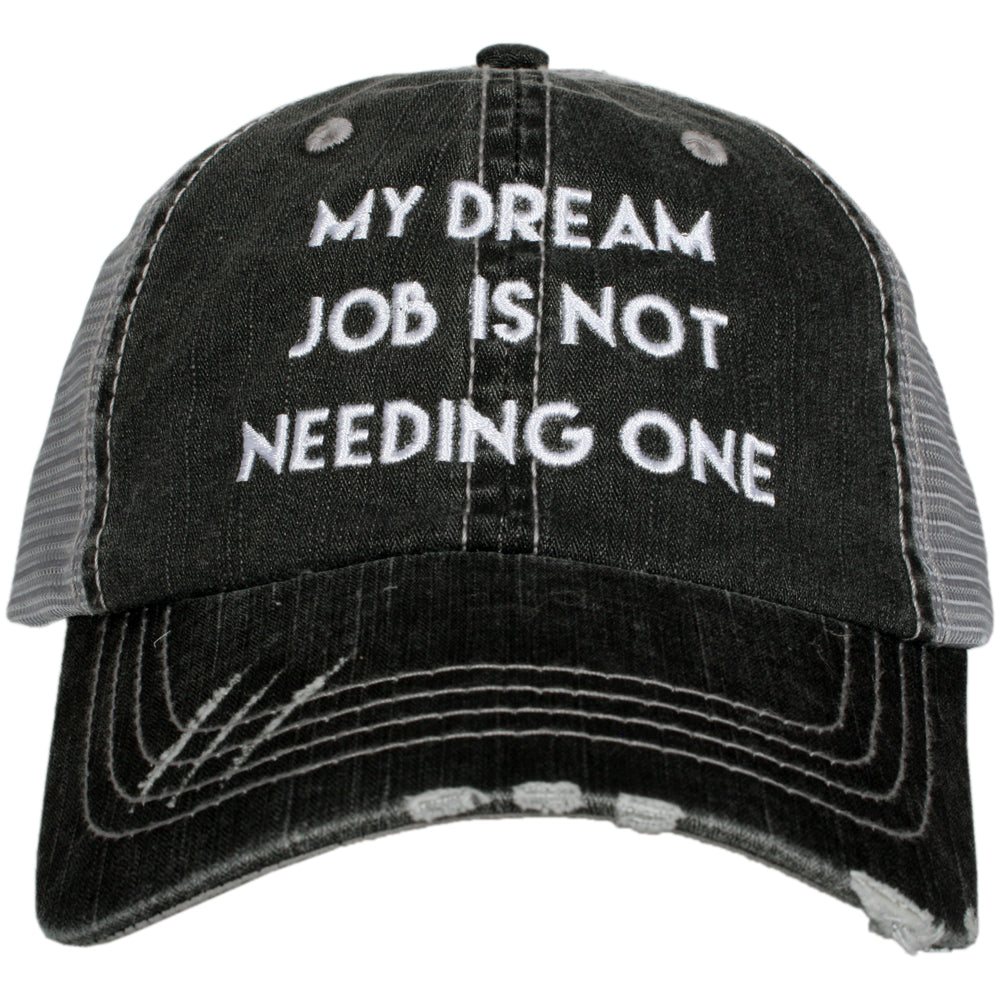 Katydid Dream Job is Not Needing One Wholesale Trucker Hat