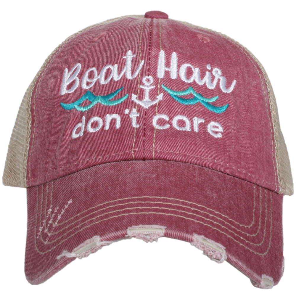 Katydid Boat Hair Don't Care (NEW WAVES) Wholesale Trucker Hats
