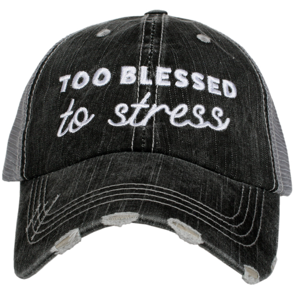 Katydid Too Blessed to Stress Wholesale Trucker Hats