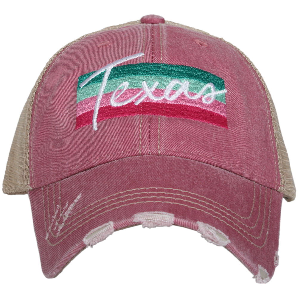 Katydid Texas Striped Wholesale Trucker Hats