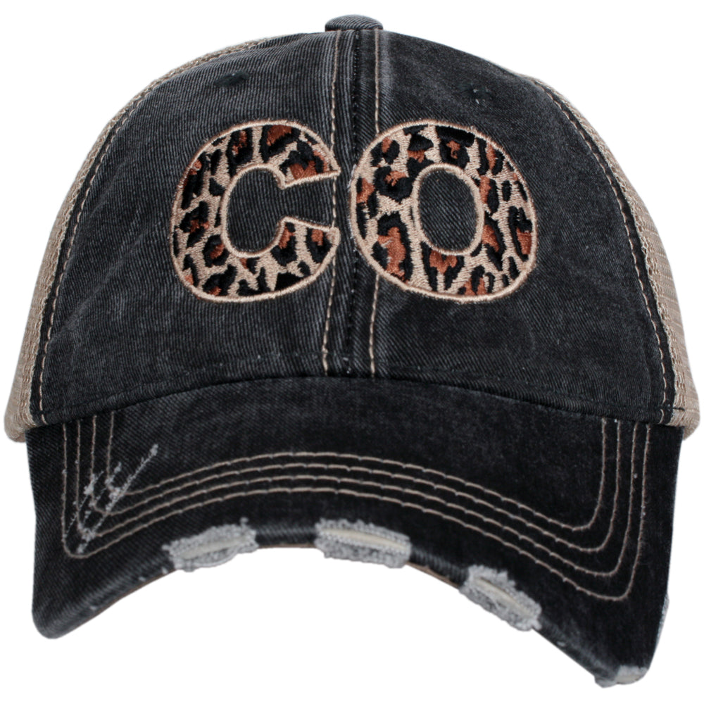 Katydid CO Leopard State Wholesale Hat