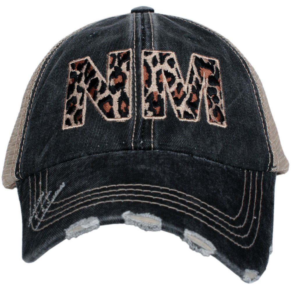 NM New Mexico Leopard State Wholesale Hat