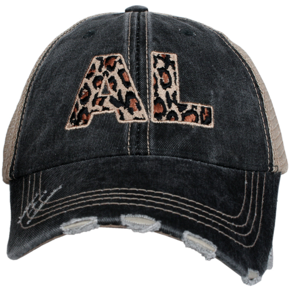 Katydid AL Alabama Leopard State Wholesale Hat
