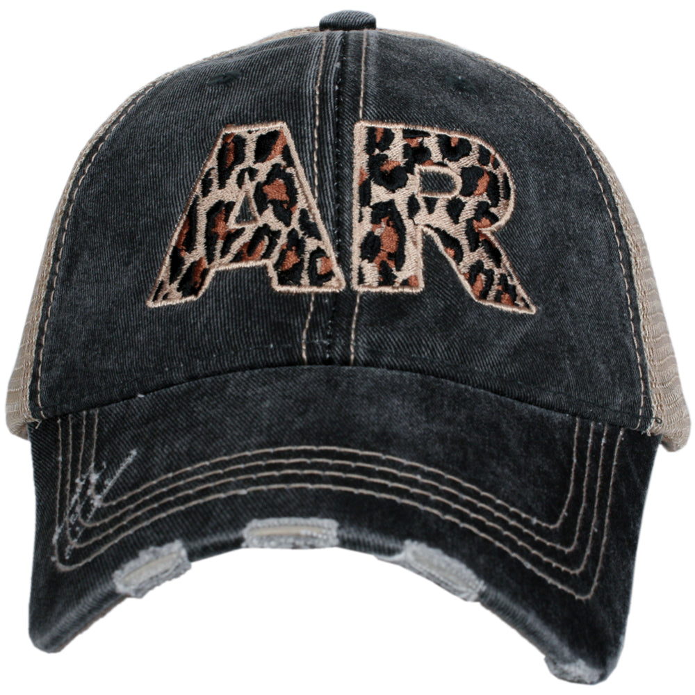 Katydid AR Arkansas Leopard State Wholesale Hat