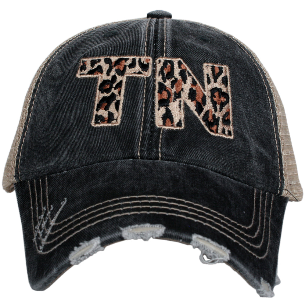 Katydid TN Leopard State Wholesale Hat