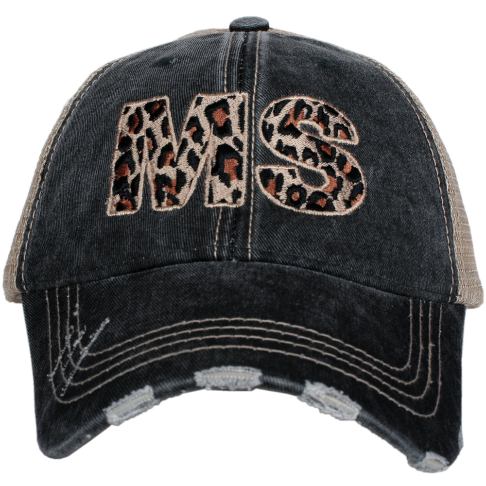 Katydid MS Leopard State Wholesale Hat