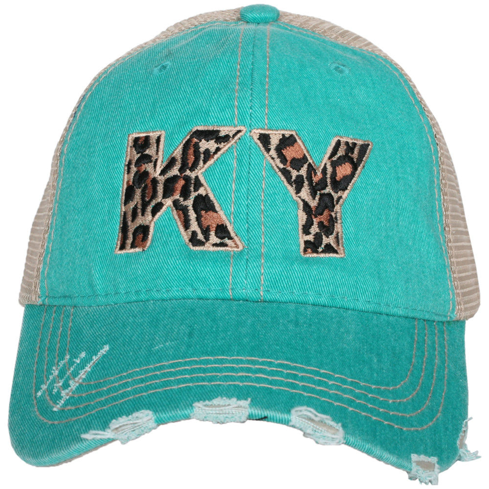 Katydid KY Kentucky Leopard State Wholesale Hat