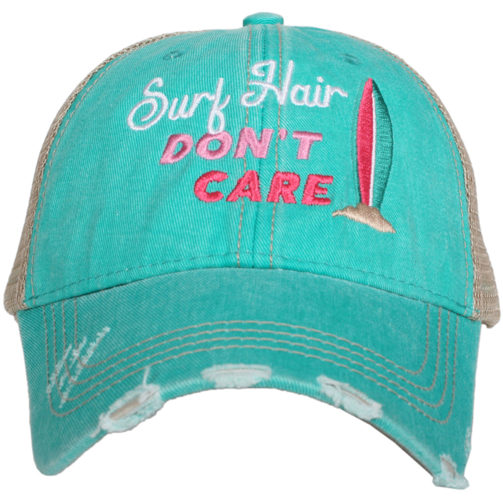 Katydid Surf Hair Don't Care (NEW) Wholesale Trucker Hats