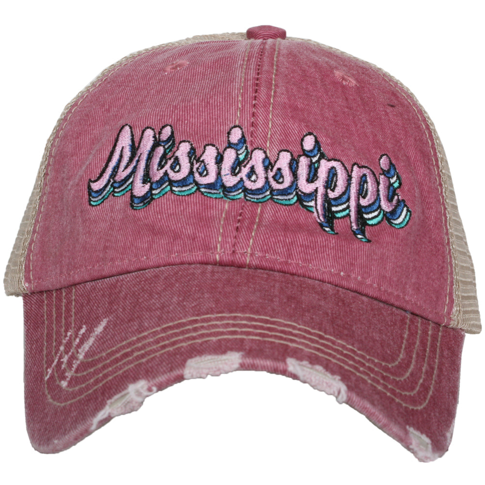 Katydid Mississippi Layered Wholesale Trucker Hats