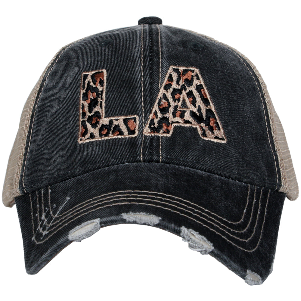 Katydid LA Louisiana Leopard State Wholesale Hat