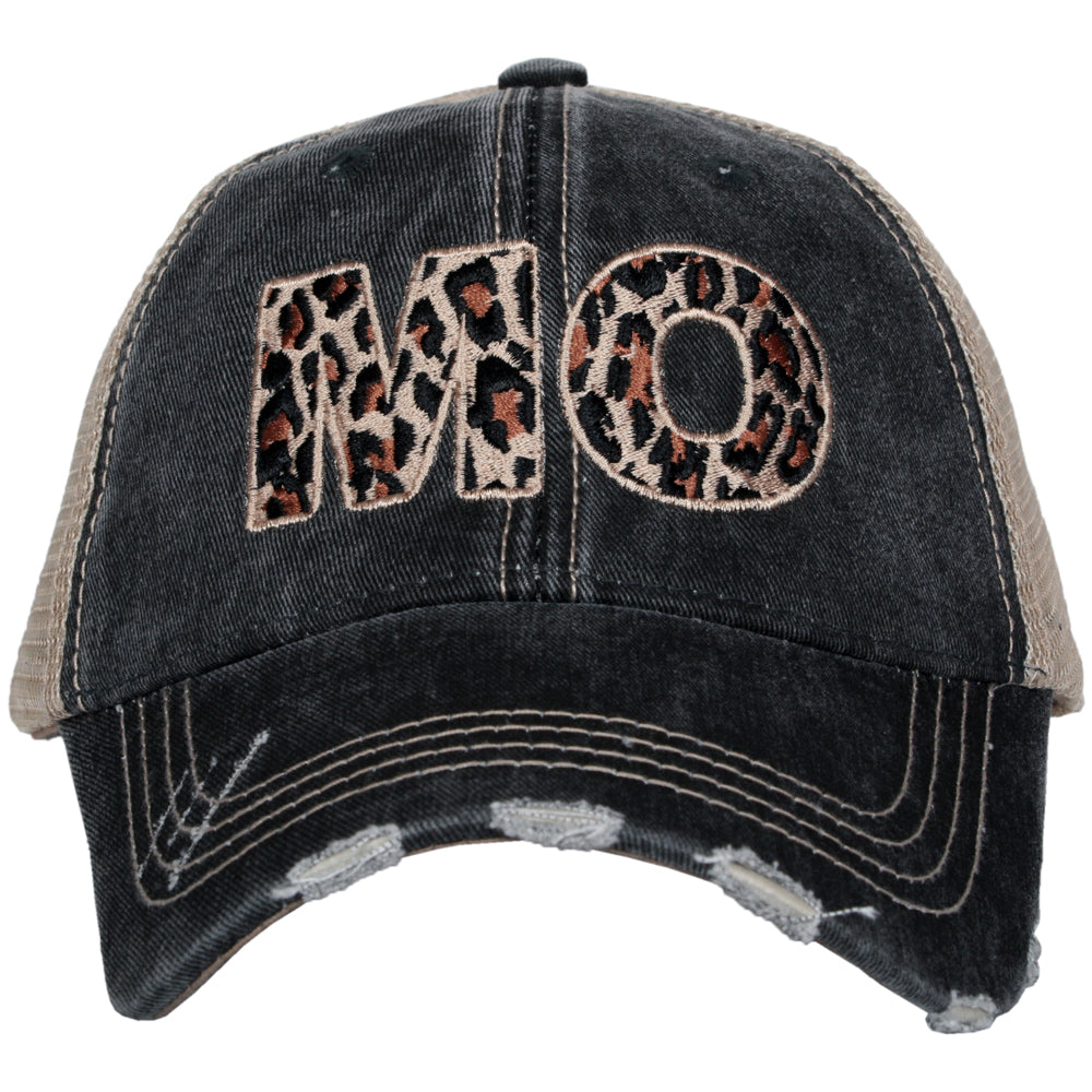 MO Missouri Leopard State Wholesale Hat