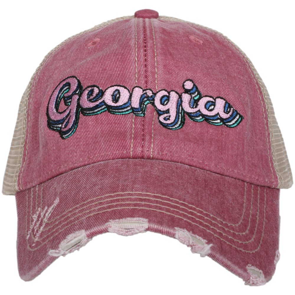 Katydid Georgia Layered Wholesale Trucker Hats