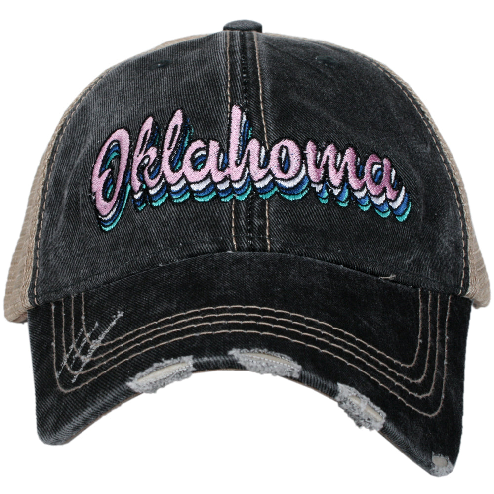 Oklahoma Layered Wholesale Trucker Hats
