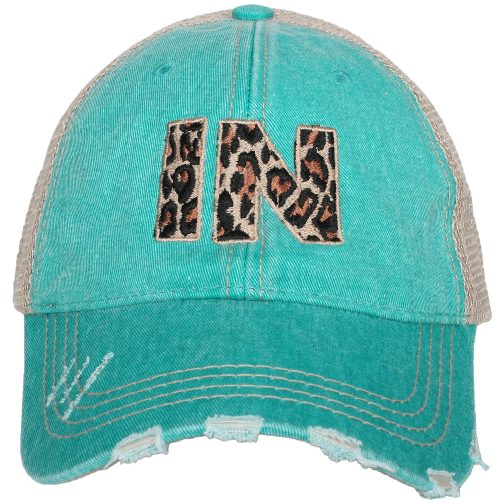Katydid IN Indiana Leopard State Wholesale Hat
