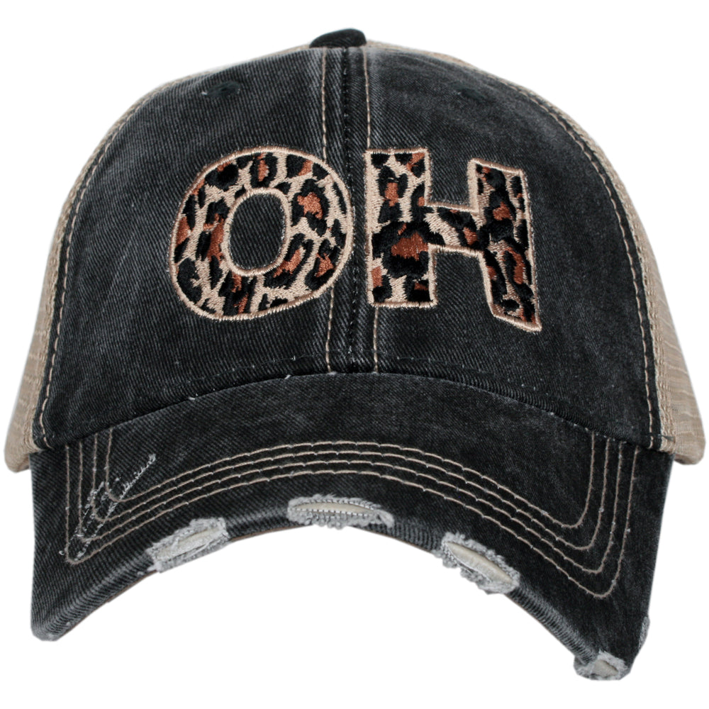OH Ohio Leopard State Wholesale Hat