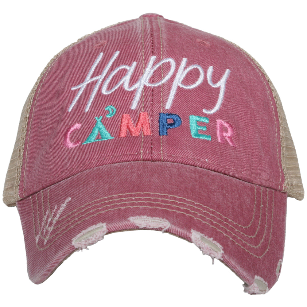 Katydid Happy Camper w/ Moon Wholesale Trucker Hats