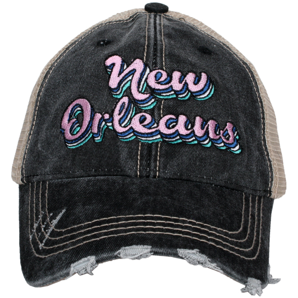 New Orleans Layered Wholesale Trucker Hats