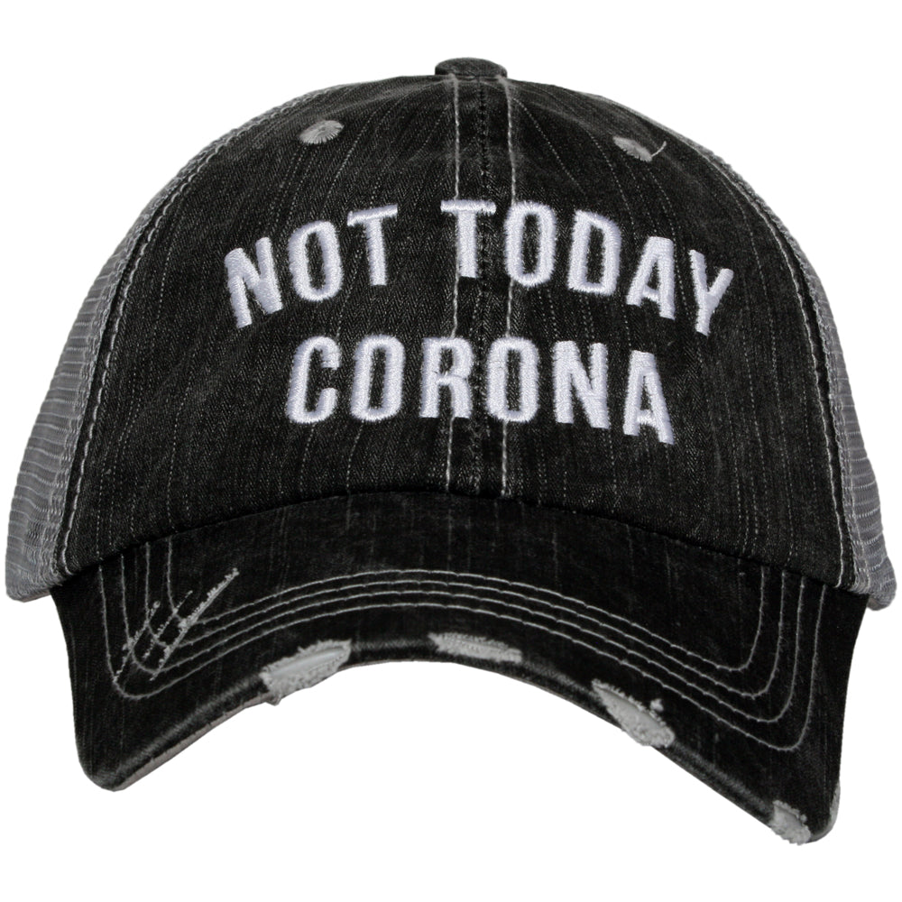 Not Today Corona Wholesale Women's Trucker Hat