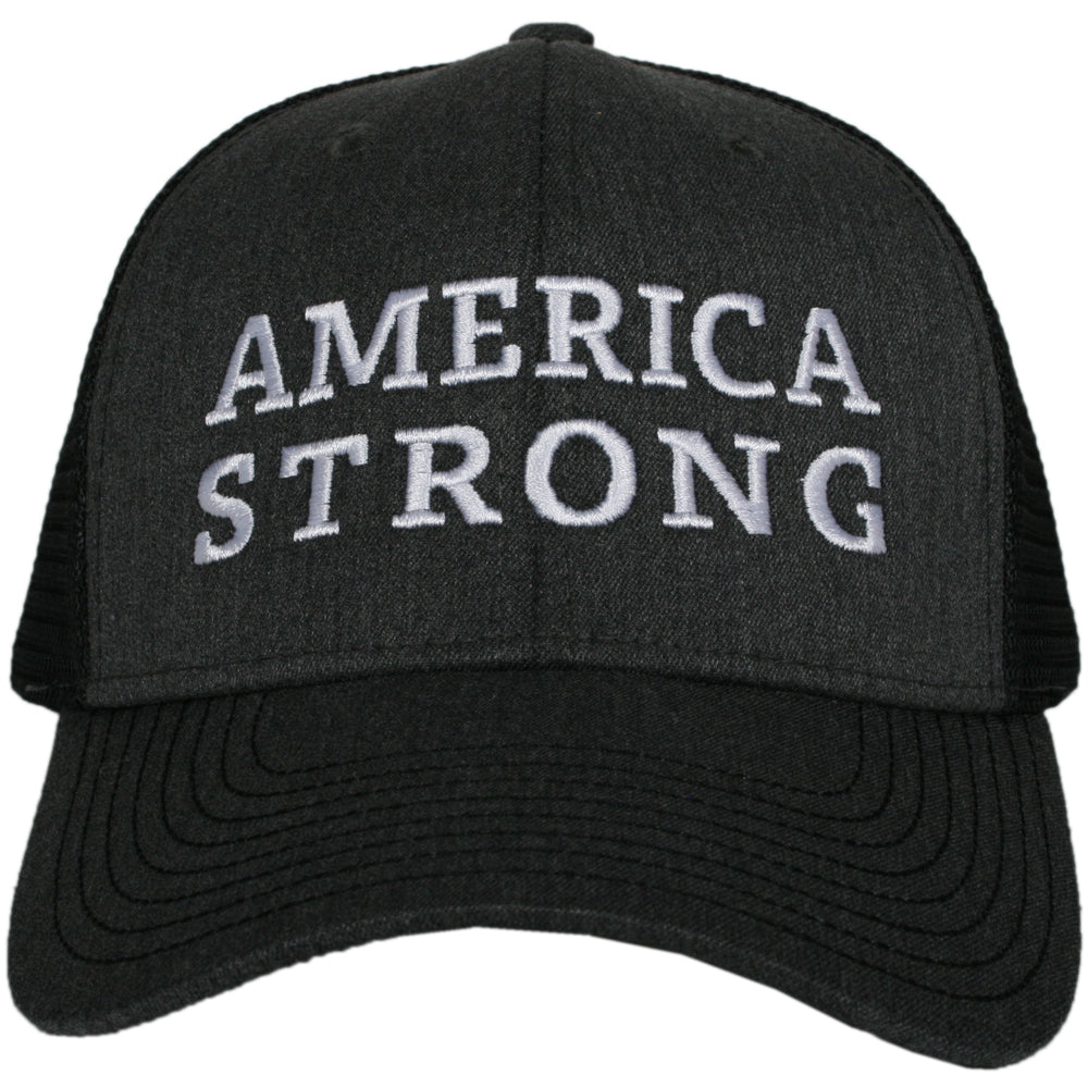 America Strong CENTERED Men's Trucker Hat