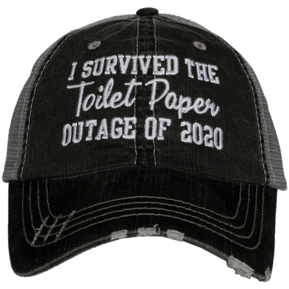 Katydid I Survived The Toilet Paper Outage Of 2020 Wholesale Trucker Hats