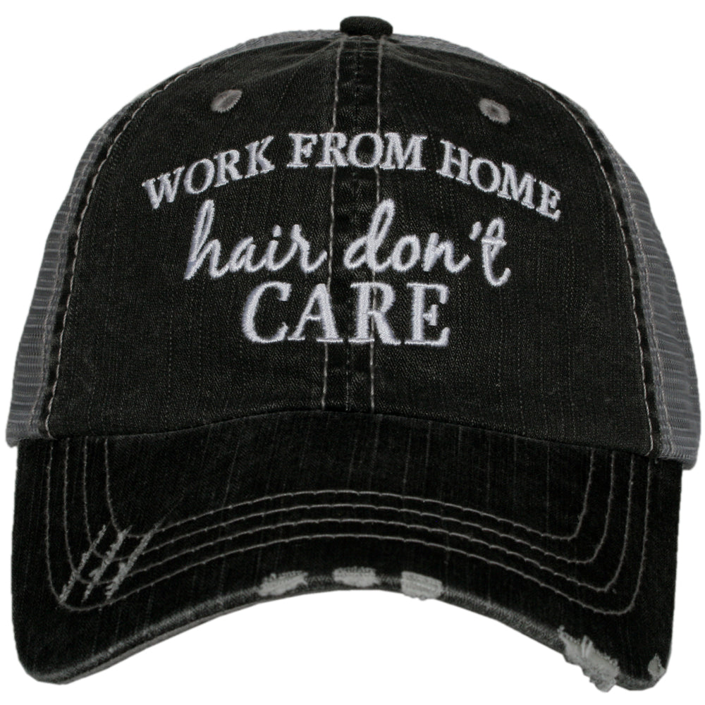 Katydid Work From Home Hair Don't Care Wholesale Women's Trucker Hat