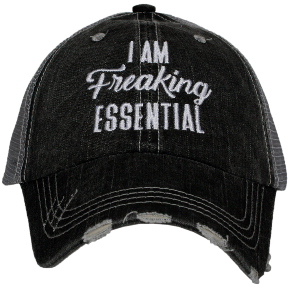 Katydid I Am Freaking Essential Wholesale Women's Trucker Hat