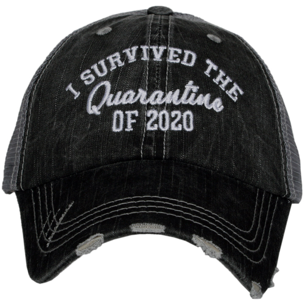 Katydid I Survived The Quarantine Of 2020 Wholesale Trucker Hats