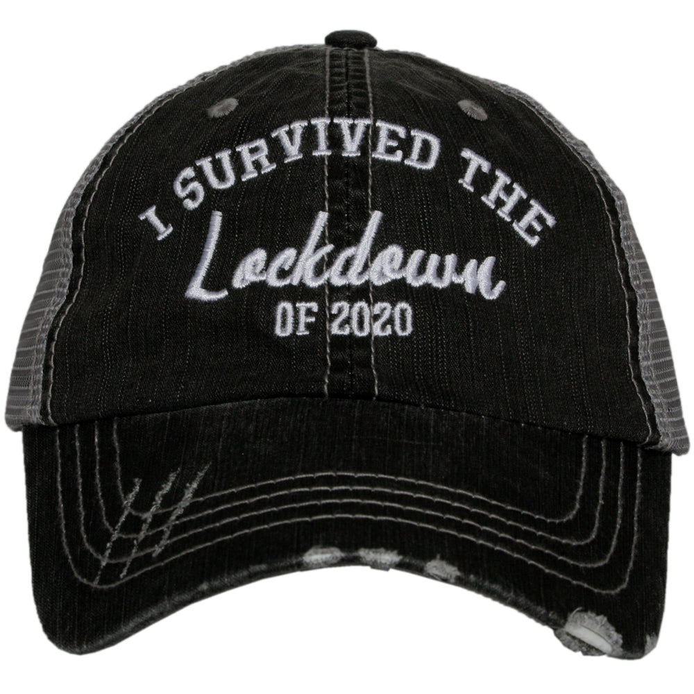I Survived The Lockdown Of 2020 Trucker Hats
