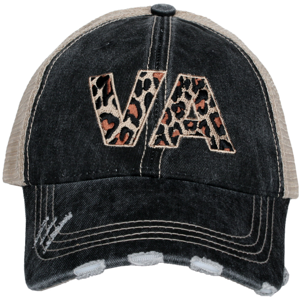 Katydid VA Virginia Leopard State Wholesale Hat