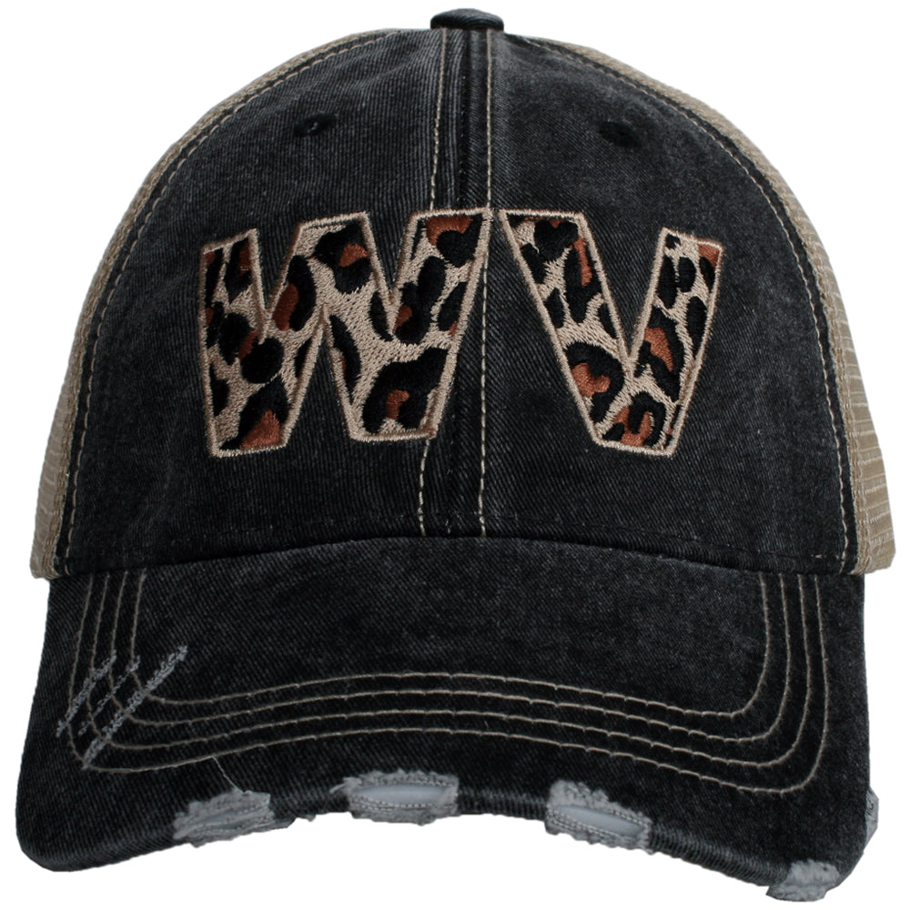 Katydid West Virginia Leopard State Wholesale Hat