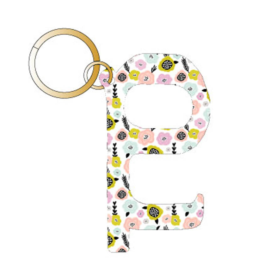 Pastel Flowers Hands Free Wholesale Key Chain