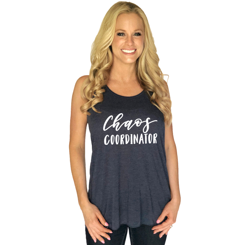 Chaos Coordinator Wholesale Tank Tops