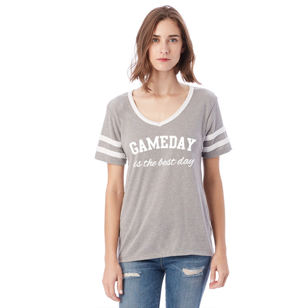 Katydid GameDay Is The Best Day Wholesale Varsity Tee