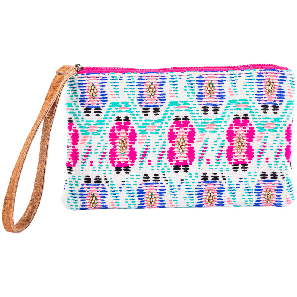 Katydid Wholesale Wristlet w/ Leather Strap
