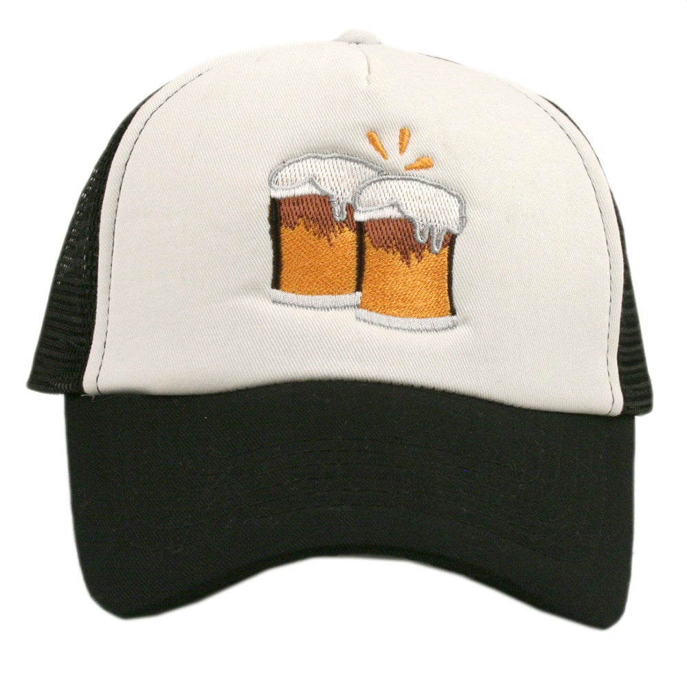 OEM Society Beer Mugs Emoji Wholesale Trucker Hat