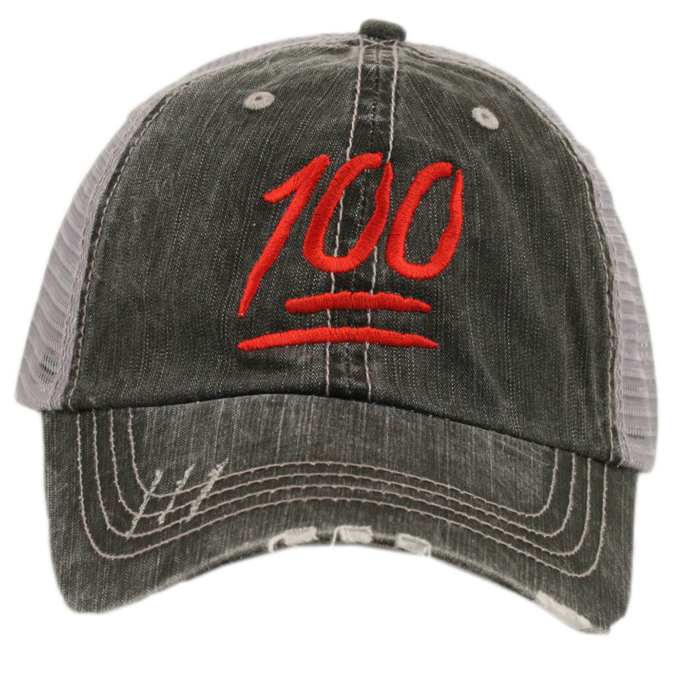 OEM Society 100 Points Emoji Wholesale Trucker Hat