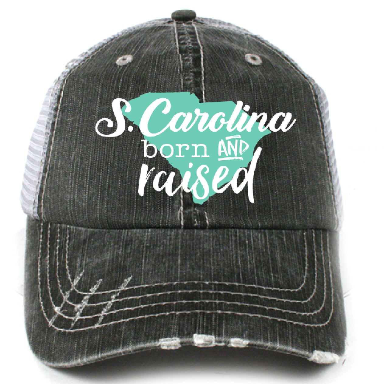 Katydid South Carolina Born and Raised Wholesale Trucker Hats