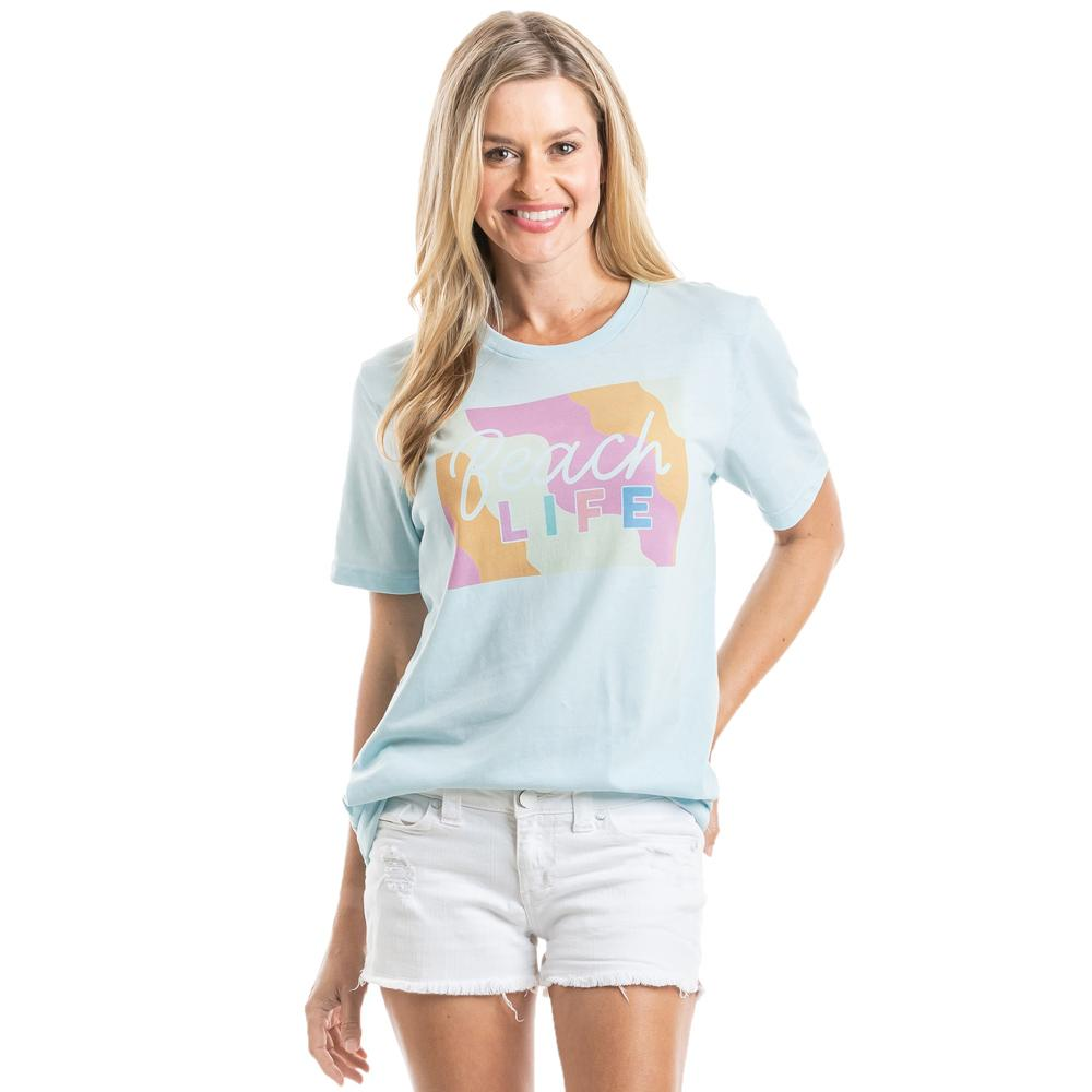 Beach Life Wholesale Women's T-Shirts