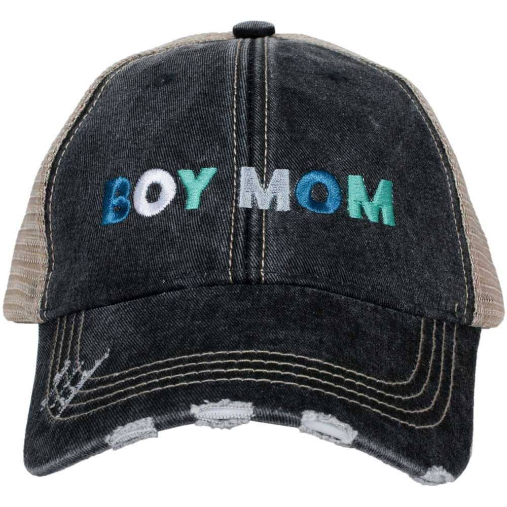 Boy Mom Wholesale Women's Trucker Hats