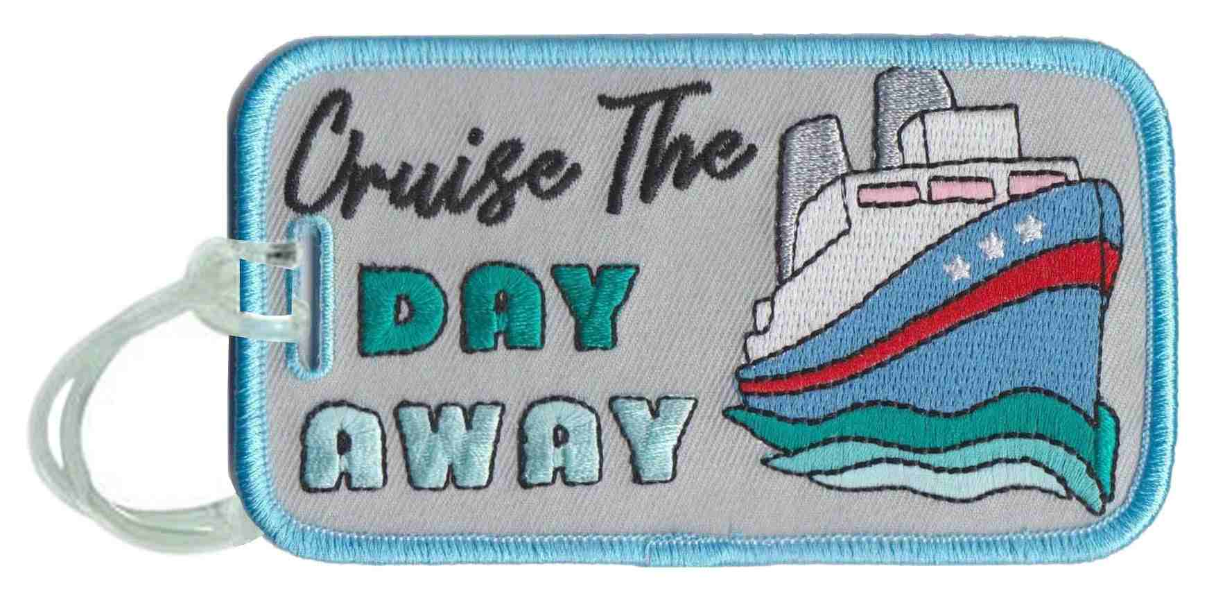 Cruise the Day Away Wholesale Luggage Tags