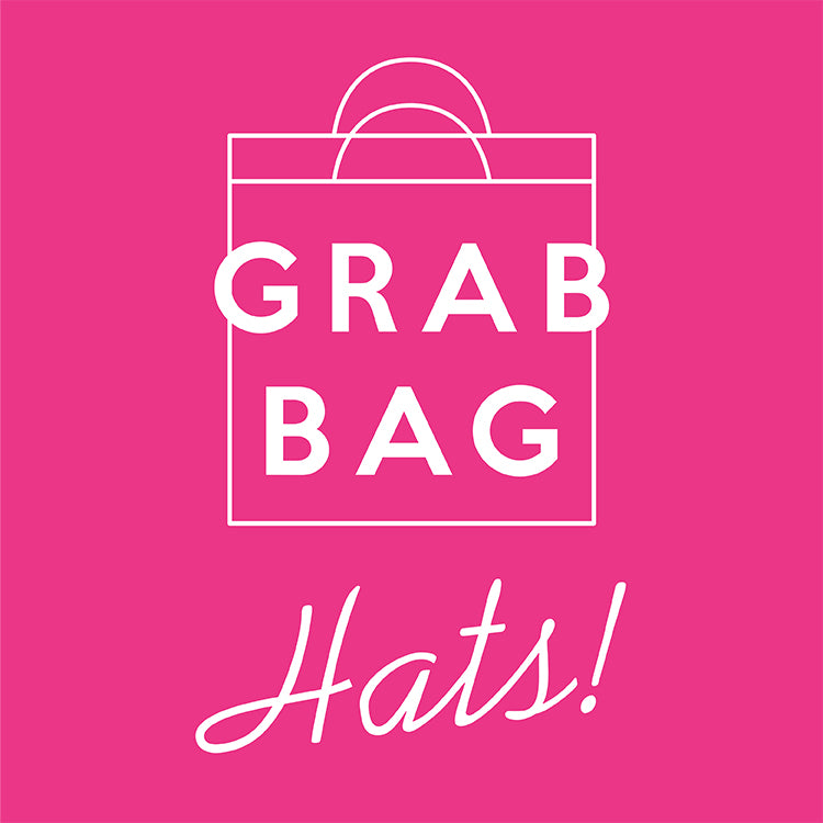 GRAB BAG - Embroidered Hats - 10 pcs for $30