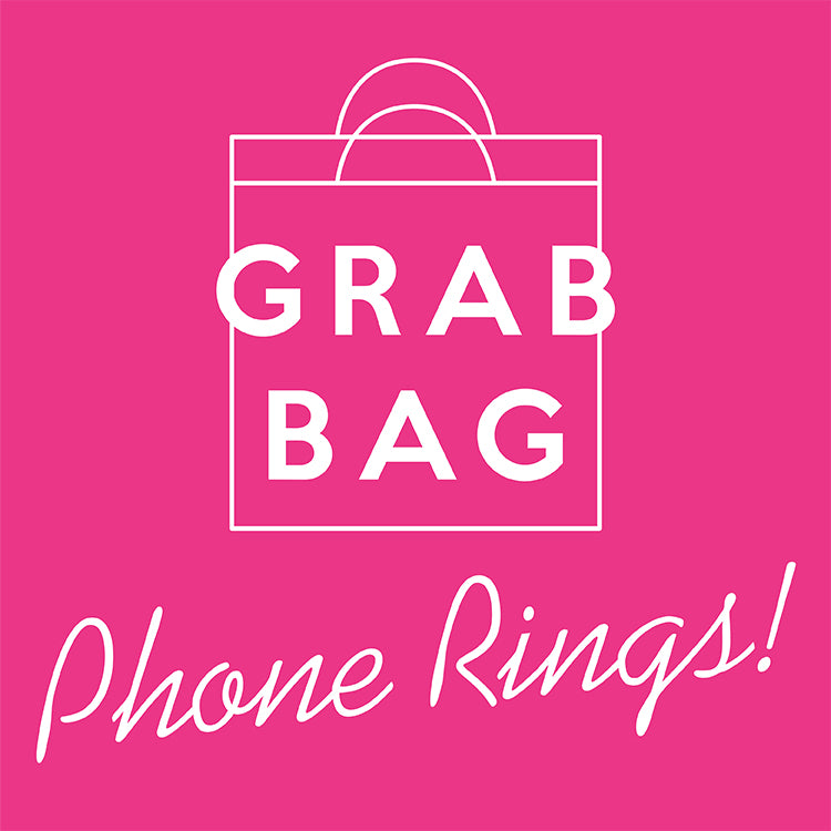 GRAB BAG - Cell Phone Rings/Stand - 10 pcs for $30
