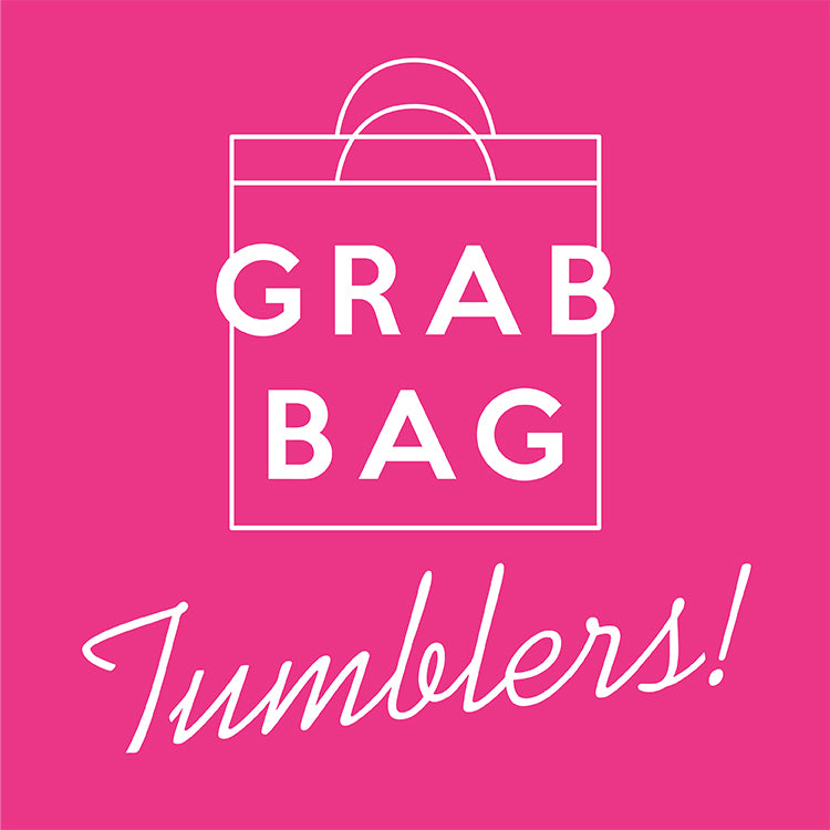 GRAB BAG - Stainless Steel Tumblers - 10 pcs for $40
