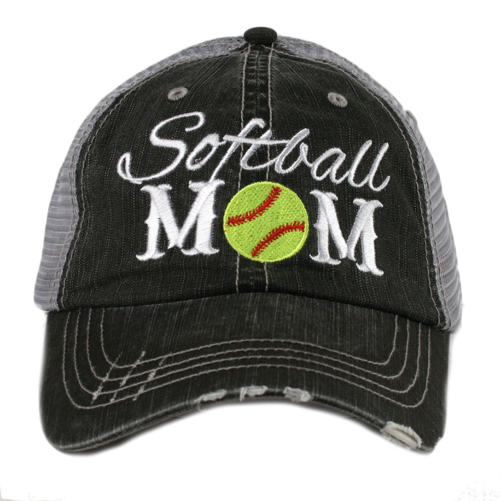 Katydid Softball Mom Wholesale Trucker Hats