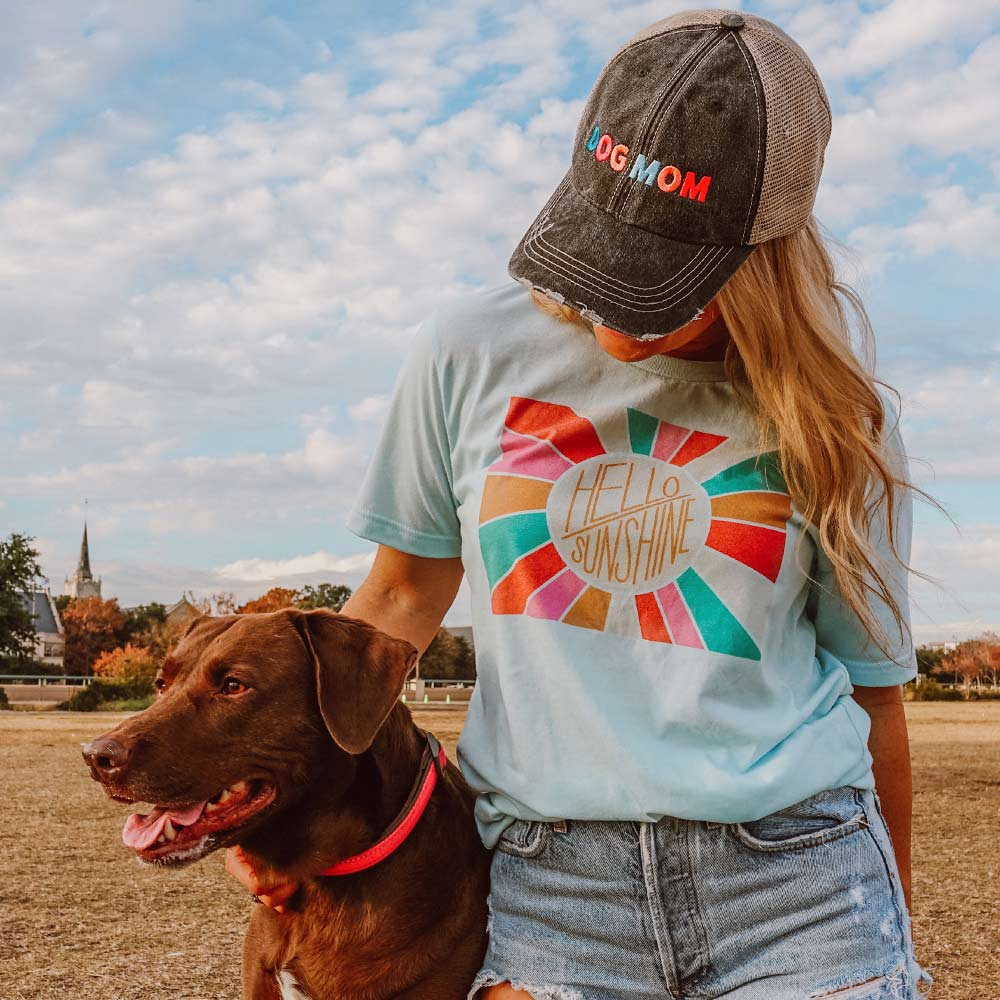 Dog Mom Wholesale Women's Trucker Hats - Multicolored