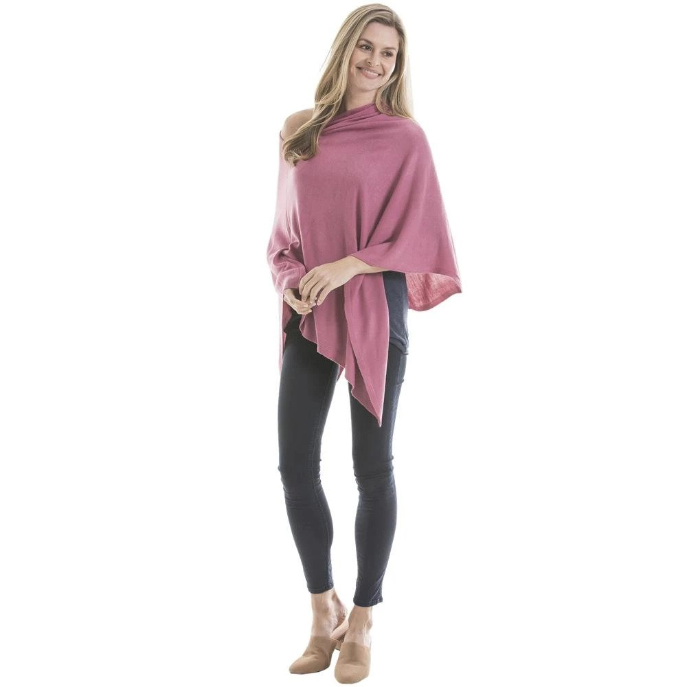 Women's Wholesale Poncho in Multiple Colorways