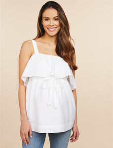 Lined Maternity Top
