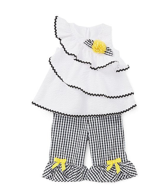 Ruffled Gingham Toddler Set