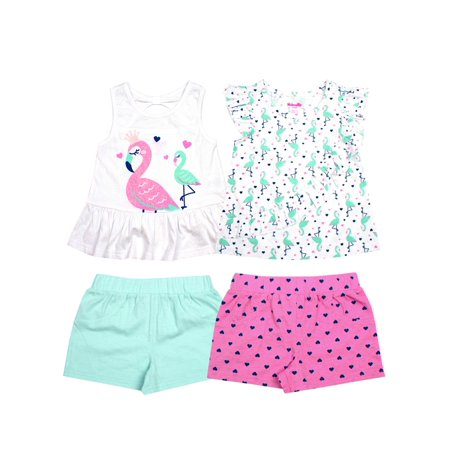 Flamingo Princess 4-Piece Set