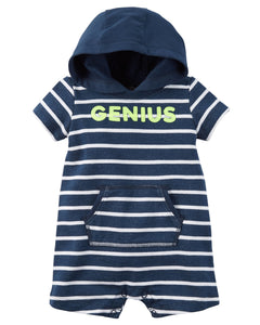Genius Hooded Romper